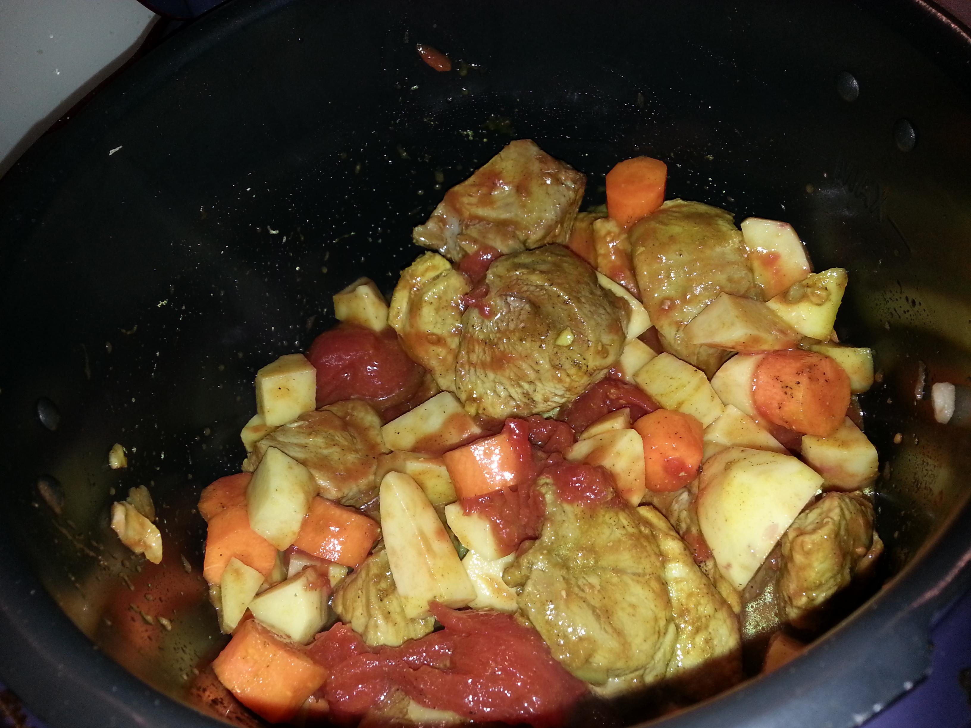 Recette colombo de porc sur la petite popotte de stef60240 blog de cuisine de stef60240 - Cookeo cuisson sous pression ...